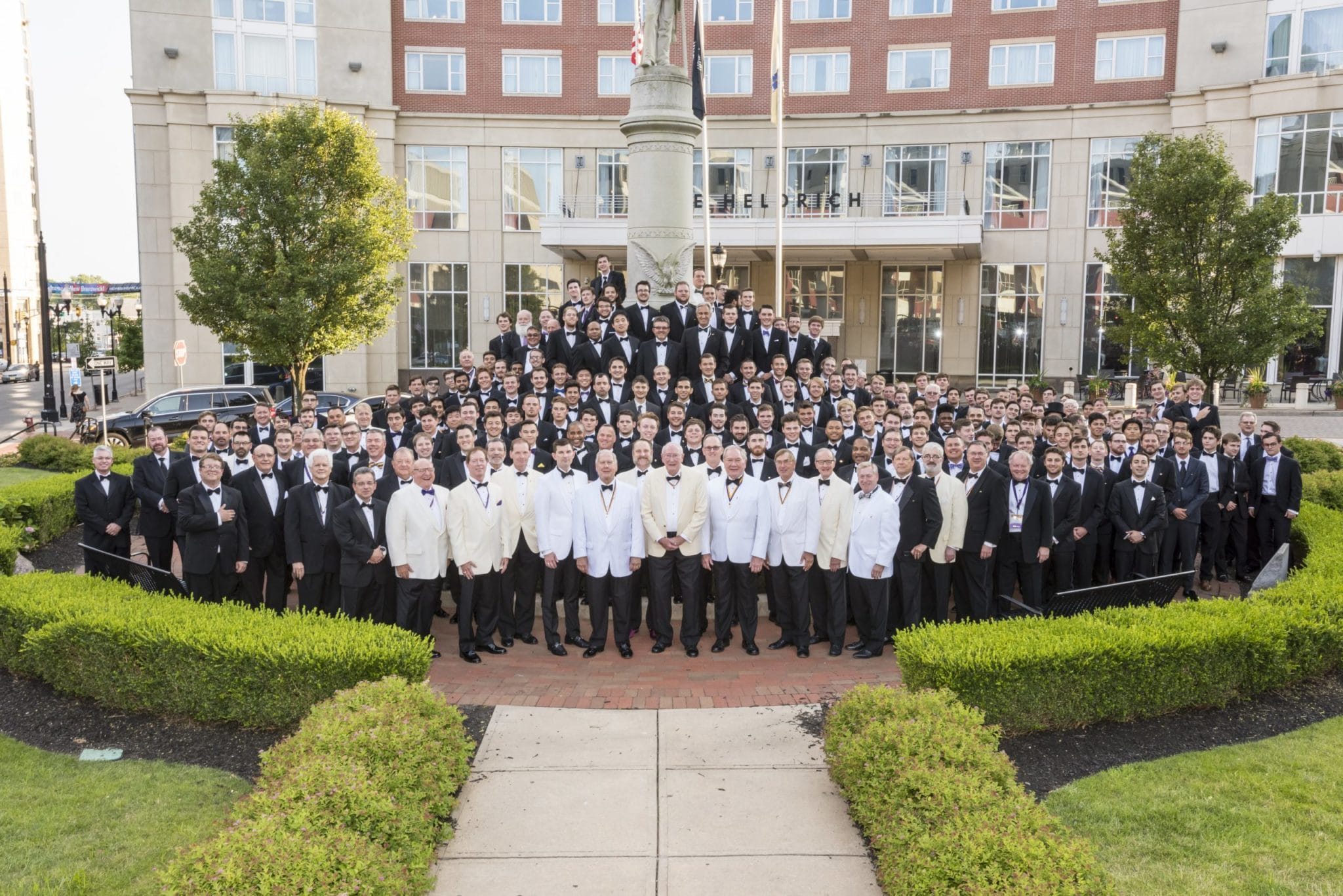 Chi Psi members at a convention