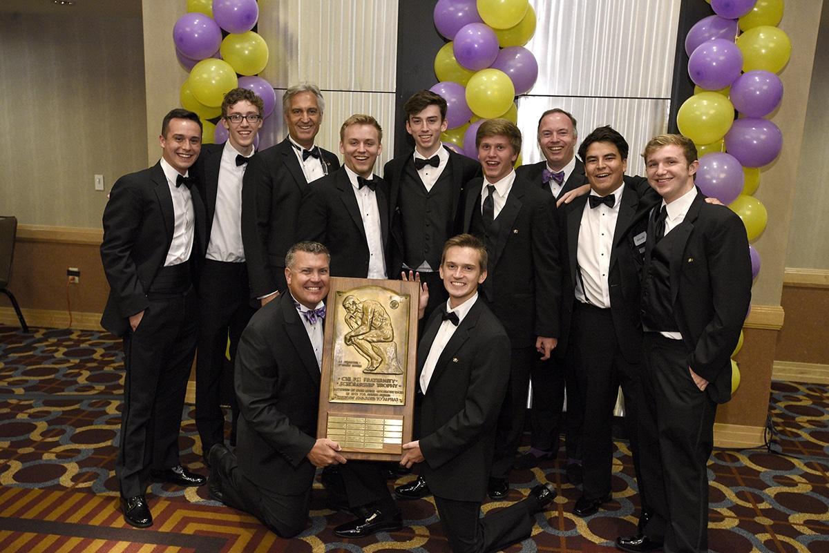 2019 Goodbody Award recipients: Alpha Phi Delta