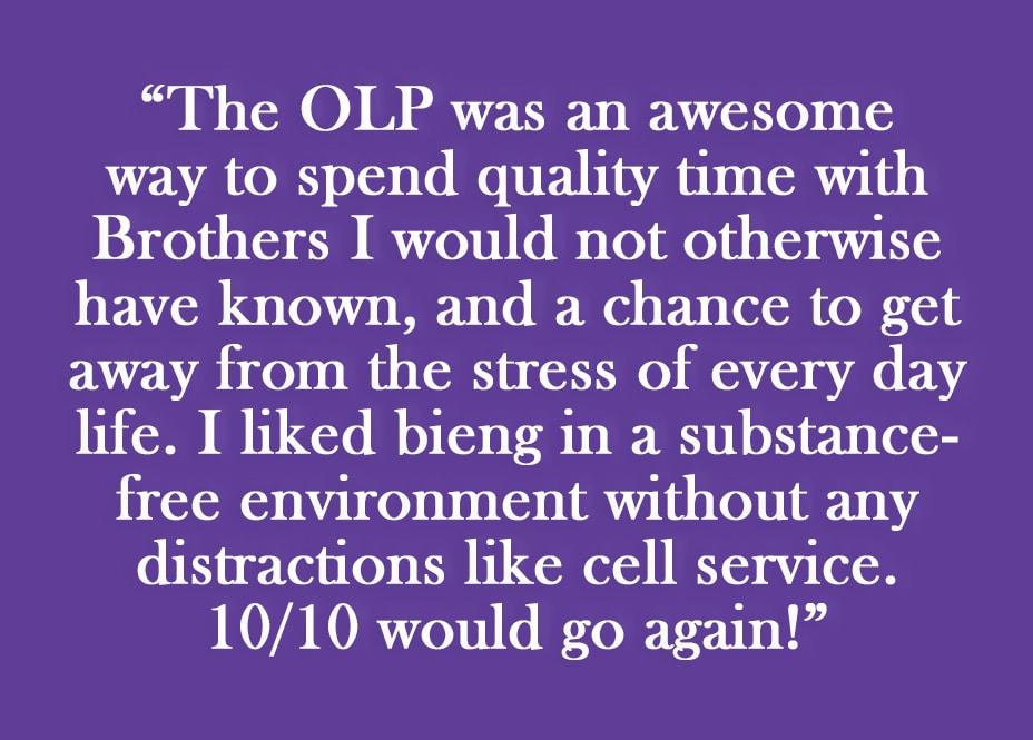 OLP Testimonial 1