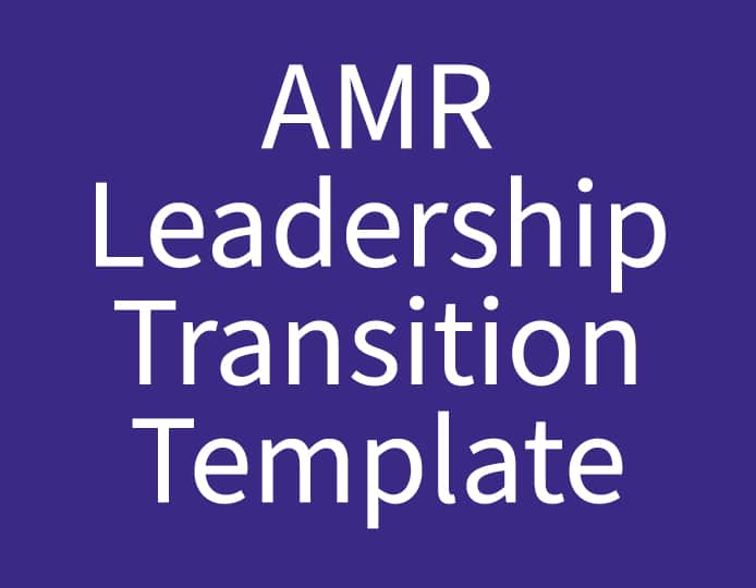 AMR Transitions Template